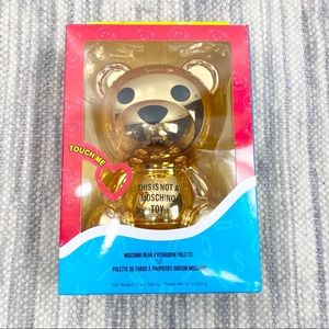 Sephora x Moschino Gold Bear Eyeshadow Palette
